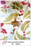 NA0042 – 'zebra is crossing!' necklace