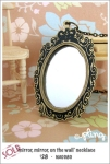 NA0080 - 'mirror, mirror, on the wall' necklace