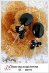 EA0070 – sassy onyx dangleearrings