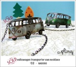 NA0090 - volkswagen transporter van necklace