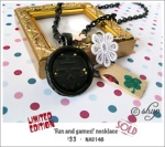 NA0148 - 'Fun and games!' necklace