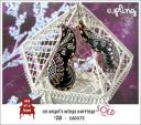 EA0075 - on angel's wings earrings