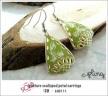 EA0111 - pasture scalloped petal earrings