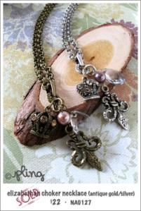 NA0127 - elizabethan choker necklace