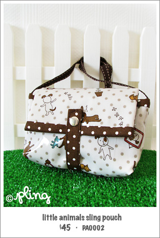 PA0002 - little animals sling pouch