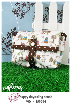 PA0004 - happy days sling pouch