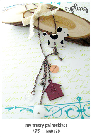 NA0179 - my trusty pal necklace