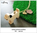 NA0183 – canine instincts necklace