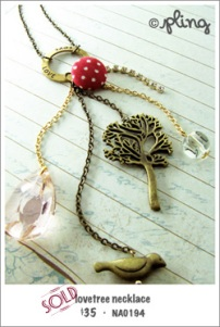 NA0194 - lovetree necklace