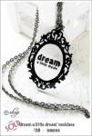 SHN006 – 'dream a little dream'necklace