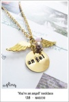NA0230 - 'You're an angel!' necklace