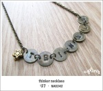 NA0242 - thinker necklace