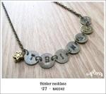 NA0242 - thinker necklace
