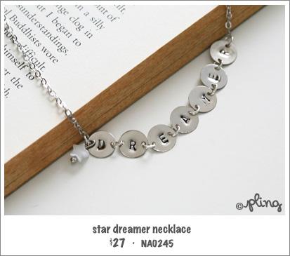 NA0245 - star dreamer necklace