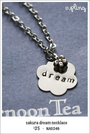 NA0246 - sakura dream necklace