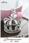 NA0252 - crowning rose necklace