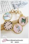 DA0003 - Alice in Wonderland bracelet